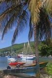 bateaux de compartiment Photographie stock