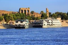 Bateaux de croisière du Nil de rivière
