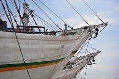 bateaux de Jakarta de port Photographie stock