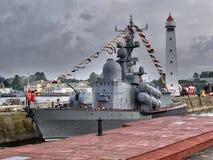 Bateaux de la Marine militaires Image libre de droits