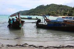 bateaux de Long-queue Image stock