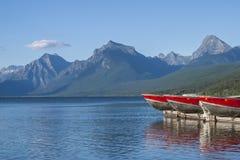 Bateaux de McDonald de lac Photographie stock