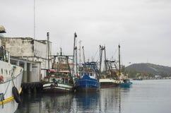 Bateaux de pêche Photo stock