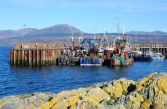 Bateaux de pêche Images stock