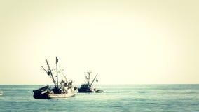 Bateaux de pêche 2 banque de vidéos