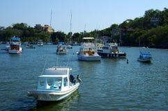 Bateaux de pêche Image libre de droits