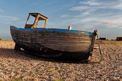 Bateaux de pêche abandonnés Photo stock