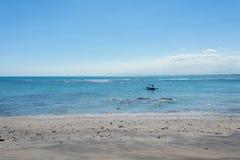 Bateaux de pêche dans Bali Photos libres de droits