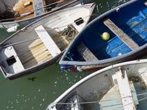 Bateaux de pêche/dingys photo libre de droits
