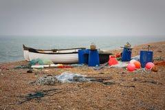 Bateaux de pêche, Dorset, R-U photo libre de droits