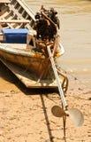 Bateaux de pêche locaux. Photo libre de droits