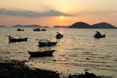 Bateaux de pêcheurs Photo stock