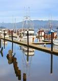 Bateaux de pêche Image stock