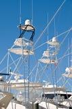 Bateaux de pêche Images libres de droits