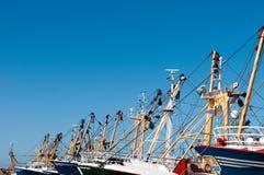 Bateaux de poissons Photographie stock libre de droits