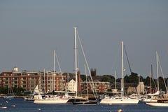 Bateaux de port de Bristol Images stock