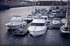 Bateaux de Swansea images libres de droits