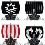 Bateaux de Viking Images stock