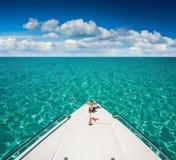 Bateaux de yacht Photo libre de droits