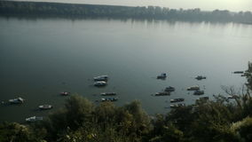 Bateaux du Danube Photographie stock