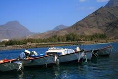 Bateaux en Îles Canaries Photographie stock