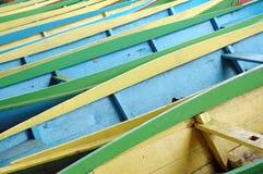 Bateaux en bois Photo libre de droits