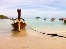 Bateaux en mer Photo stock