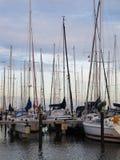 Bateaux en Mer du Nord Photographie stock