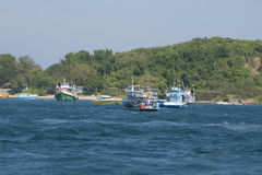 Bateaux en Thaïlande Photos stock