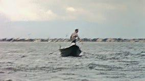 Bateaux et ferry de Venise banque de vidéos