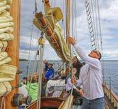 Bateaux grands Amérique Photo libre de droits