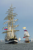 Bateaux grands russes Image libre de droits