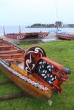 Bateaux maoris Photos stock