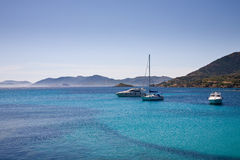 Bateaux, méditerranéens, Sardaigne Photo stock