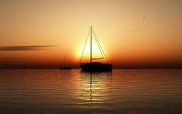 Navigation de bateaux Photo libre de droits