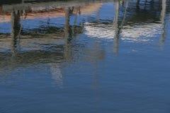 Bateaux sur l'eau Image stock
