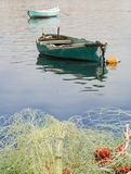 Bateaux sur la mer Photographie stock