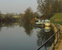 Bateaux sur la rivière Avon Photographie stock libre de droits