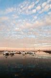 Bateaux sur le lac Ontario photos libres de droits