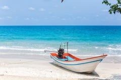 Bateaux sur le rivage Photographie stock libre de droits