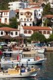 Bateaux turcs Image libre de droits