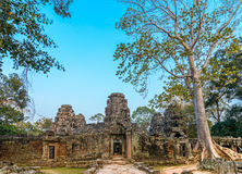 Bateay Kdei temple royalty free stock image