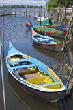 Bateira boats Royalty Free Stock Images