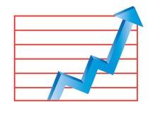 Batendo o mercado - vetor imagens de stock royalty free
