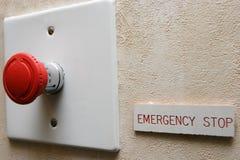 Batente de emergência Imagens de Stock Royalty Free