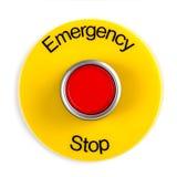 Batente de emergência Imagem de Stock