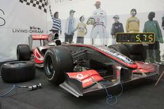 Batente do poço de McLaren Mercedes F1 Fotos de Stock