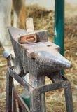 Batente e martelo Imagem de Stock