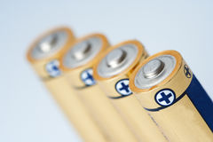 Batería Fotos de archivo