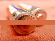 Batería Foto de archivo libre de regalías